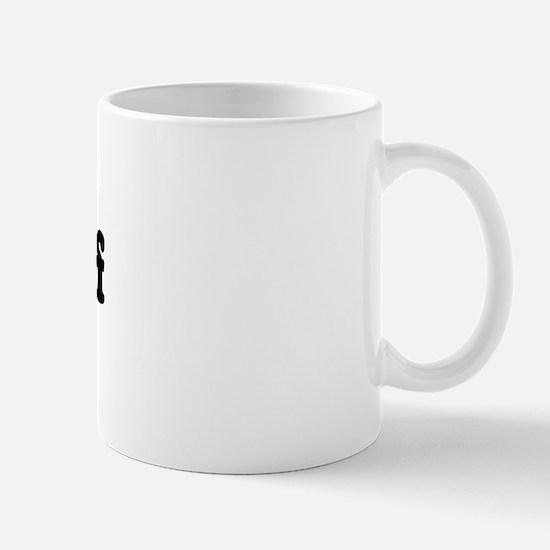 Anti-liberal I heart Mug