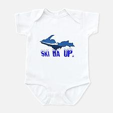 Ski da UP, eh? - Infant Bodysuit