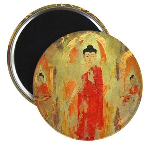 "Thai Buddhist Art Gift 2.25"" Magnet (100 pack)"