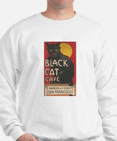 San Francisco Black Cat Cafe Sweatshirt