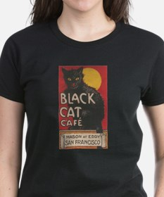 San Francisco Black Cat Cafe Tee