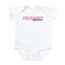 Fire Dept Hottie Jersey Style Infant Bodysuit