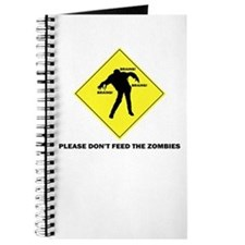 Don't Feed The Zombies Journal