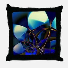Closest Stars Fractal Art Throw Pillow