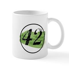 new green towel mug Mugs