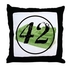 Cute Hitchhiker's guide to the galaxy Throw Pillow