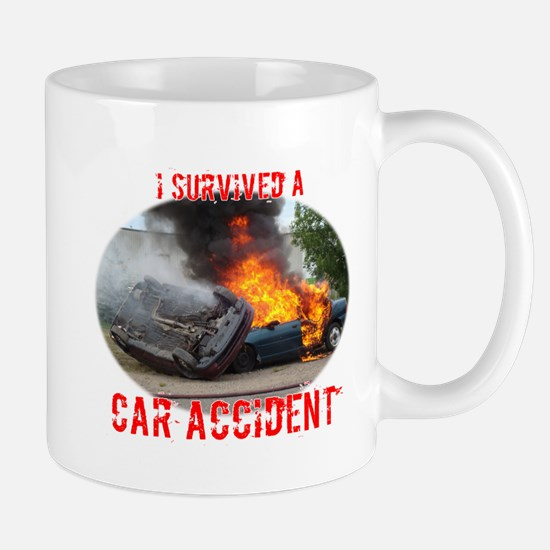 I Survived A Car Accident Mug