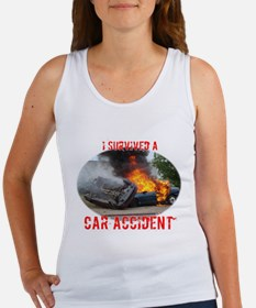 I Survived A Car Accident Women's Tank Top