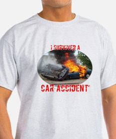 I Survived A Car Accident T-Shirt