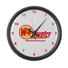 W4 Country Large Wall Clock
