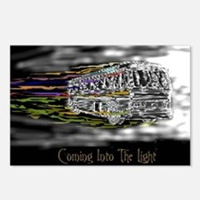'Coming Into The Light' Postcards (Package of 8)