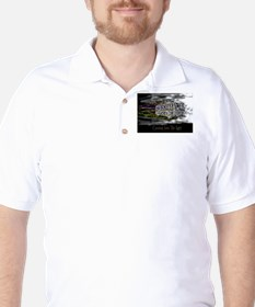 'Coming Into The Light' Golf Shirt