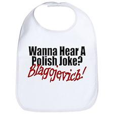 Funny Blagojevich Bib