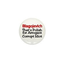 Cool Blagojevich Mini Button