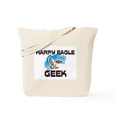 Harpy Eagle Geek Tote Bag