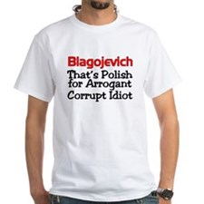 Unique Blagojevich Shirt