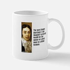 """Coleridge """"Happy Marriage"""" Mug"""