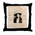 J.B. Hickock Throw Pillow