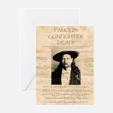 J.B. Hickock Greeting Card