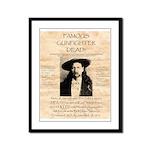 J.B. Hickock Framed Panel Print