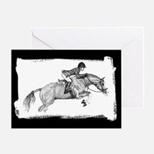 Equestrian Horse Thank You Greeting Card