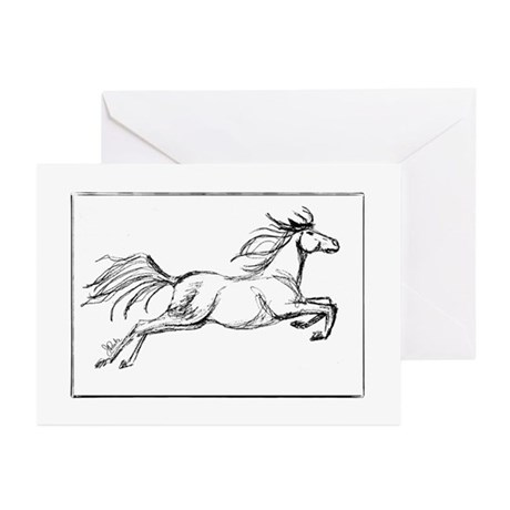 Equestrian Thank You Greeting Cards (Pk of 20)