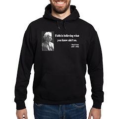 Mark Twain 19 Hoodie