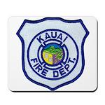 Kauai Fire Department Mousepad