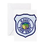 Kauai Fire Department Greeting Card