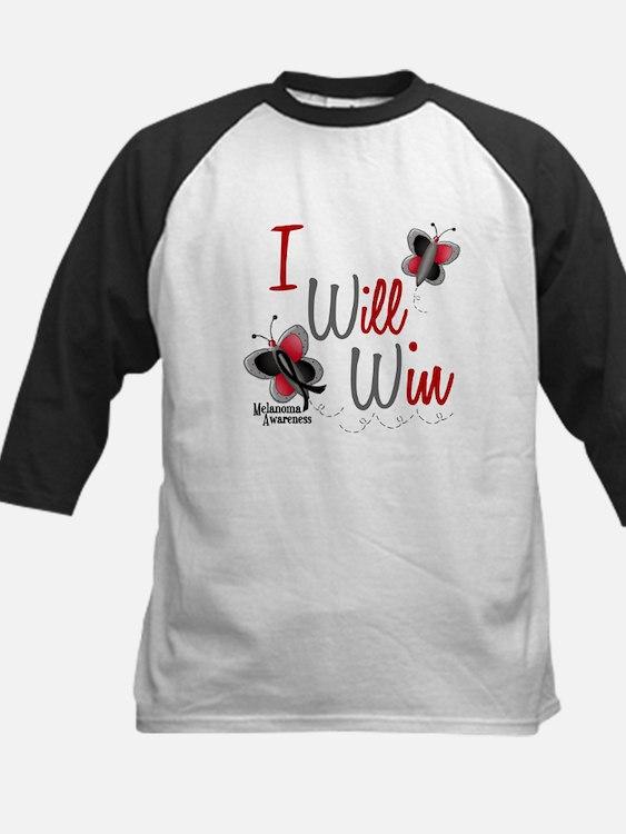 I Will Win 1 Butterfly 2 MELANOMA Kids Baseball Je