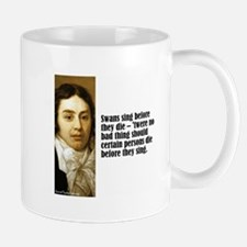 "Coleridge ""Swans"" Mug"