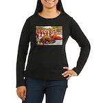 Shriner Mini Cars Women's Long Sleeve Dark T-Shirt