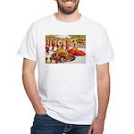 Shriner Mini Cars White T-Shirt