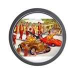Shriner Mini Cars Wall Clock