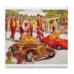 Shriner Mini Cars Tile Coaster