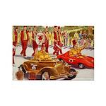 Shriner Mini Cars Rectangle Magnet (100 pack)