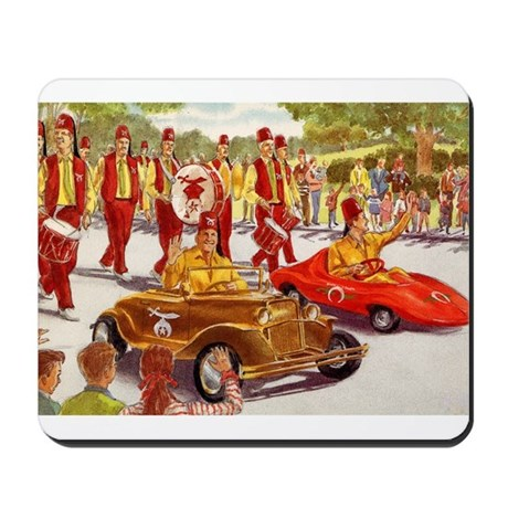 Shriner Mini Cars Mousepad