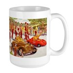 Shriner Mini Cars Large Mug