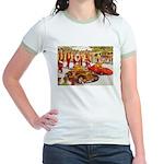 Shriner Mini Cars Jr. Ringer T-Shirt