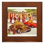 Shriner Mini Cars Framed Tile