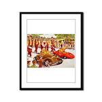 Shriner Mini Cars Framed Panel Print