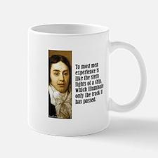 """Coleridge """"Experience"""" Mug"""