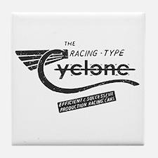 Cyclone Vintage Tile Coaster