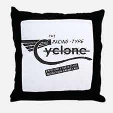 Cyclone Vintage Throw Pillow
