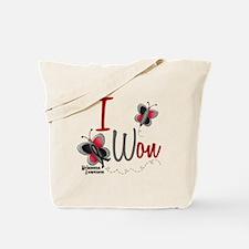I Won 1 Butterfly 2 MELANOMA Tote Bag