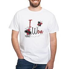 I Won 1 Butterfly 2 MELANOMA Shirt