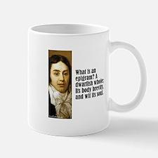 "Coleridge ""Epigram"" Mug"
