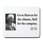 Mark Twain 29 Mousepad