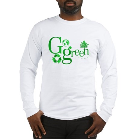 Go Green Long Sleeve T-Shirt