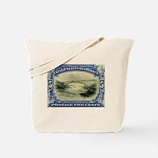 NY Niagara Falls stamp Tote Bag